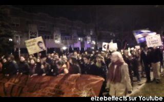 Manif nocturne contre la hausse à Québec – Interviews sur l'orientation du mouvement étudiant