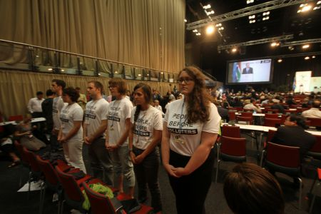 Canadian Youth Take a Stand in Durban