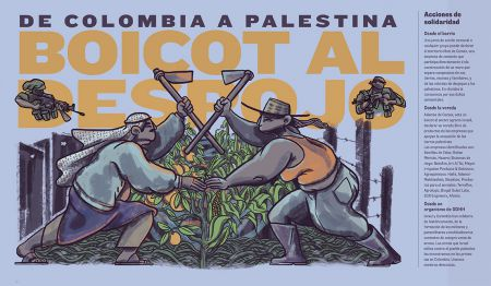 Des ponts entre la Colombie et la Palestine