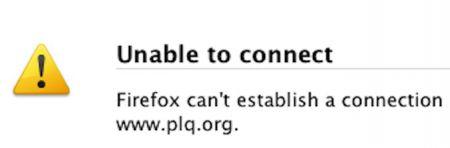 Education ministry, Liberal websites go offline
