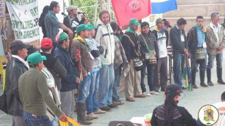 COLOMBIA: Peasant mouvement general meeting