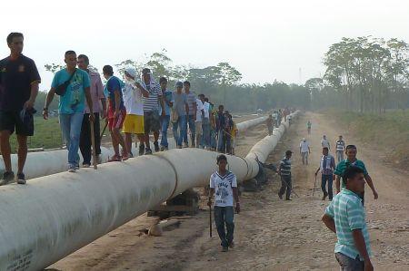 SNC-Lavalin in Arauca, still where they shouldn't be