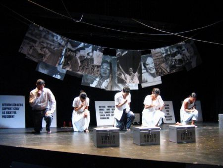 People Power brings whirlwind of revolution to the stage and beyond