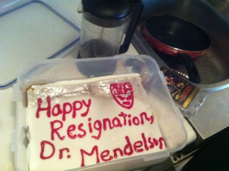 Don't call it an occupation: Students take over McGill admin offices for surprise-resignation party