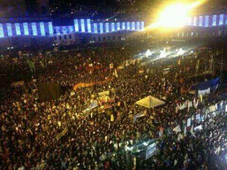 Soulèvement à Bogota