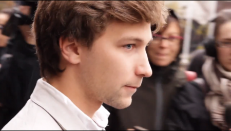 Ex-CLASSE spokesperson Gabriel Nadeau-Dubois will be appealing his contempt of court charges. Photo: Still from appelatous.org