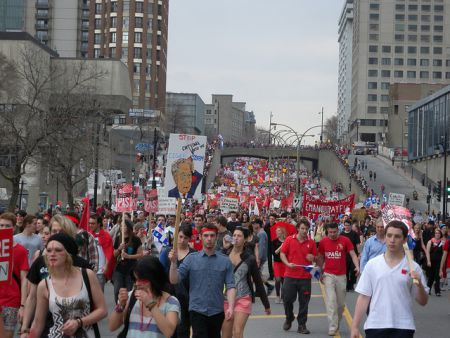 Will Quebec and Canada see another movement against austerity? Photo by: Yanik Crepeau