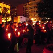 Montreal March and Vigil for Murdered and Missing Indigenous Women