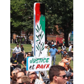Palestine-Solidarity: Who Are They and What Are they Saying? (A collection of Banners - Aug.10)