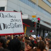 Red Sweeps Montreal Once Again: More than 250,000 out against tuition fee hikes and emergency laws