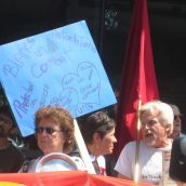 Manif de casseroles en solidarité avec les Algonquins de Lac Barrière