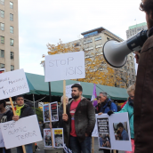 Journée mondiale pour Kobané 1er novembre 2015 à soi-disant «Montréal»/World Kobane Day in so-called ''Montreal'' November 1st