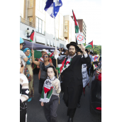 Hundreds Gather in Montreal for the Second Time in Solidarity with Gaza (July 16)