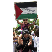 Gaza solidarity: Montrealers march for the third time in less than 10 days (july19)