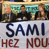 Parc-Ex residents and mayor join Sami Sheikh to demand his right to stay in Canada