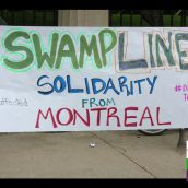 SWAMPLINE9 Solidarity from Montreal