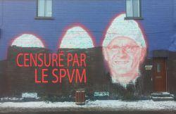 Un artiste censuré par la SPVM