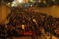 Fifteen thousand take to Montreal streets as Quebec government plays semantics, blocks negotiations
