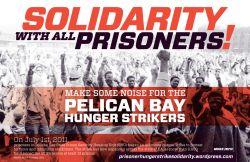 Des Organisations à Montréal Envoient une Lettre de soutien pour les grévistes de la faim de la SHU à la Prison d'État de Pelican Bay et dans d'autres prisons en Californie