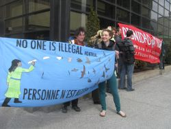 No One is Illegal/Personne n'est Illégale and/et/y Dignidad Migrante