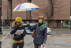 Bianca Mugyenyi and Julie Michaud