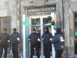 Reason for Celebration on McGill Campus