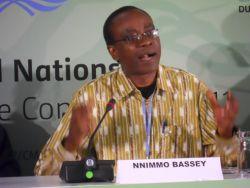 "Bassey: Delegates must not pass a ""death sentence on Africa"""
