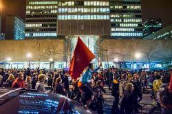 Radio CKUT : Témoignages de la manifestation étudiante nocturne