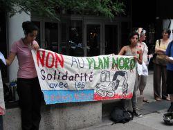 Non au Plan Nord - Solidarité avec les Premières nations