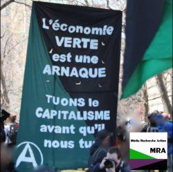 «L'économie VERTE est une ARNAQUE/TUONS le CAPITALISME avant qu'il nous tue»