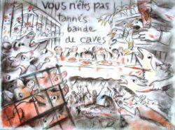 FESTIN ET FAMINE par Frédéric Back