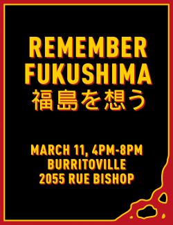 CKUT En profondeur - La commémoration du second anniversaire de la catastrophe de Fukushima s'est aussi célébrée à Montreal