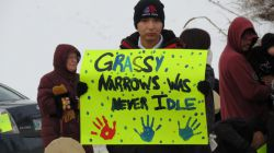 """Grassy Narrows to """"Maintain our Blockade, our Boycott, and our Protest"""" Following Supreme Court Decision"""