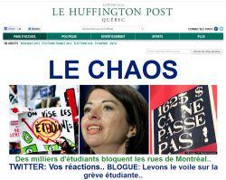 Huffington Post Quebec: The 'progressive' alternative?