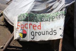 À la défense d'un site historique autochtone