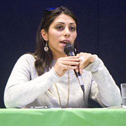 Palestinian Activist Yafa Jarrar at the People's Social Forum