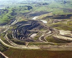 Corporate mining in South Africa.