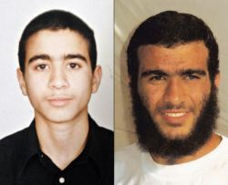 Omar Khadr, then and now