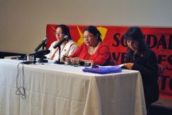 The event was organized by Concordia's 2110 Center for Gender Advocacy. (Michael Paolucci/The McGill Tribune)