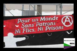 Pour un monde sans patrons ni flics ni prisons ! - Une photo de Média Recherche Action