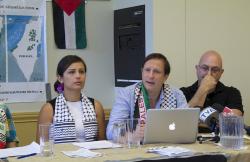 De Gauche À Droite: Mme Hala Yassin, M. Paul Ahmarani, M. Francis Dupuis-Déri