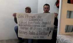 Solidarity with prison strike from colombian prisons