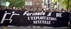 Photo de la manifestation - F1 de l'exploitation sexuelle