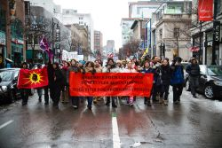 Idle No More began as a protest of Bill C-45, but morphed into a pan-Canadian indigenous rights movement. (Robin Dianoux)