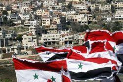 Democracy protest in Syria