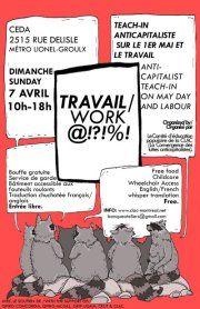 Entrevue: Teach-in anticapitaliste sur le thème du travail et du 1er mai