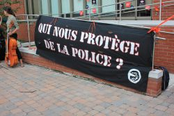 Voix et images en solidarité avec le soulèvement à Ferguson/Voices and images in solidarity with the Ferguson uprising
