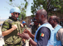 Michel Duhamel while MINUSTAH chief of staff, ca. 2006 (Image: World View Canada)