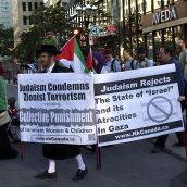 Gaza-Solidarity Protest in Montreal (July 11)